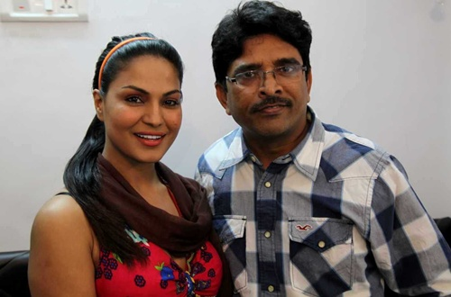 Sunny Shah The Celebrity Manager Joins Team Veena Malik