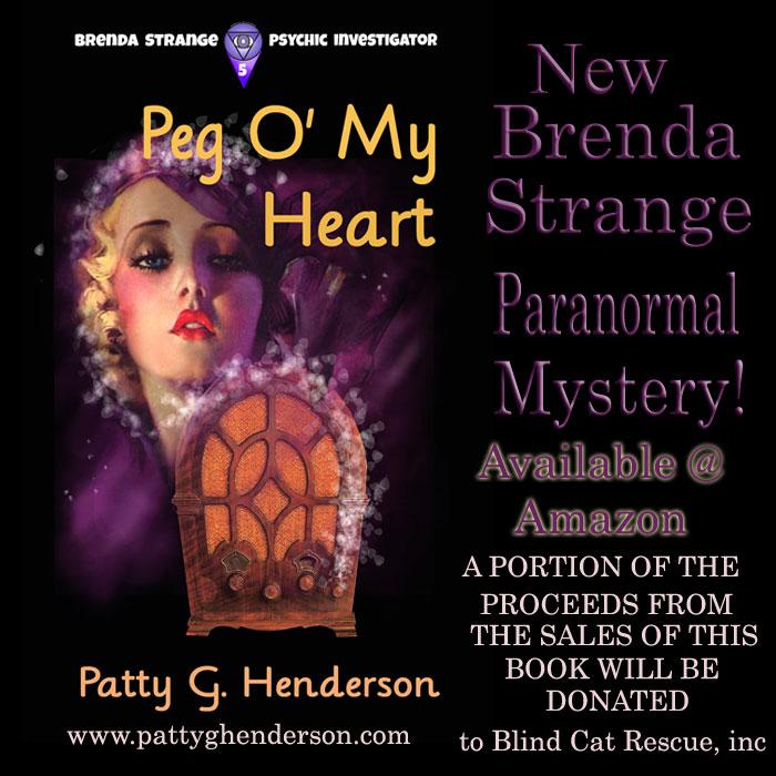 peg o' my heart by Patty G. Henderson; lesbian supernatural mystery