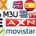 Lista M3U canales de españa - Agosto 2017