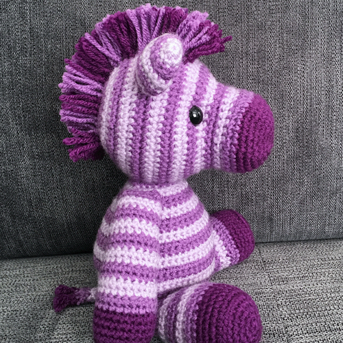 Zane the Zebra - Free Amigurumi Pattern