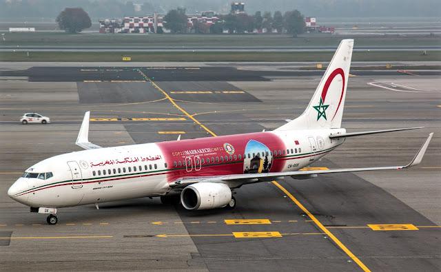 boeing 737-800 royal air maroc