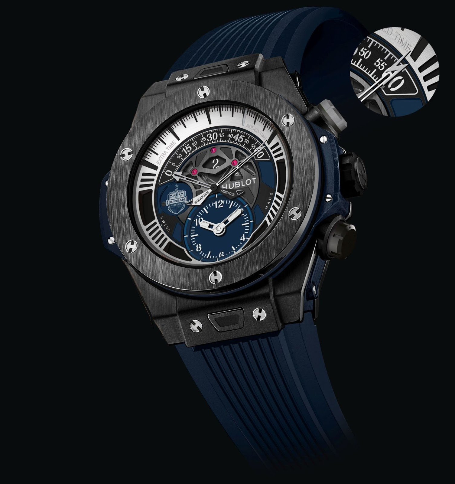 Hublot Uhr Neue Uhr : Hublot Big Bang Unico Chronograph Retrograde