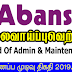 Vacancy In Abans PLC  Post Of - Head Of Admin & Maintenance