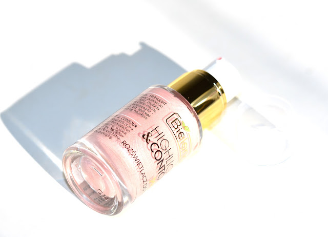 Bielenda Highlight & Contour Pink, отзыв свотчи