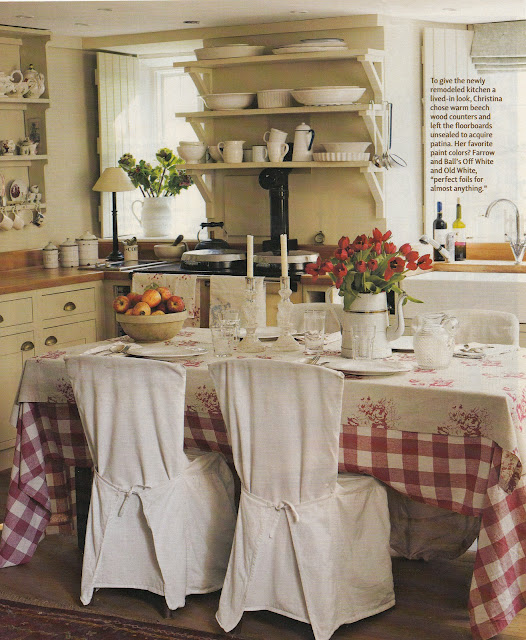 English Cottage Kitchen Designs: Hydrangea Hill Cottage: The Home And Designs Of Christina