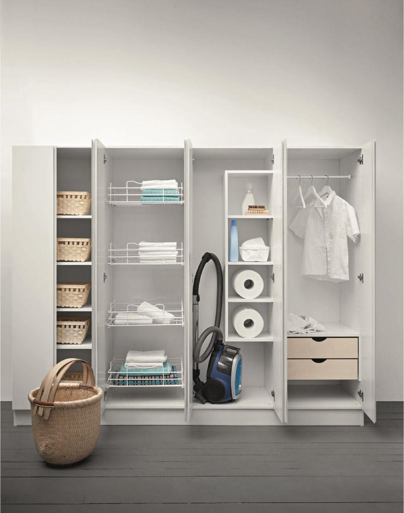 Estetica e funzionalit per la zona lavanderia blog di - Mobili per lavanderia di casa ...