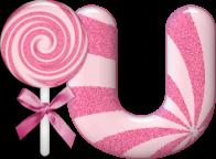 Abecedario con Lollypop. Pink Abc with Lollypop.