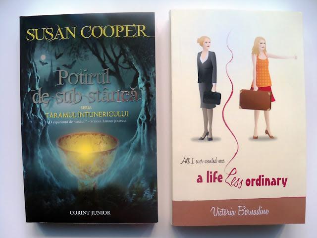 Potirul de sub stâncă de Susan Cooper si A Life Less Ordinary de Victoria Bernadine
