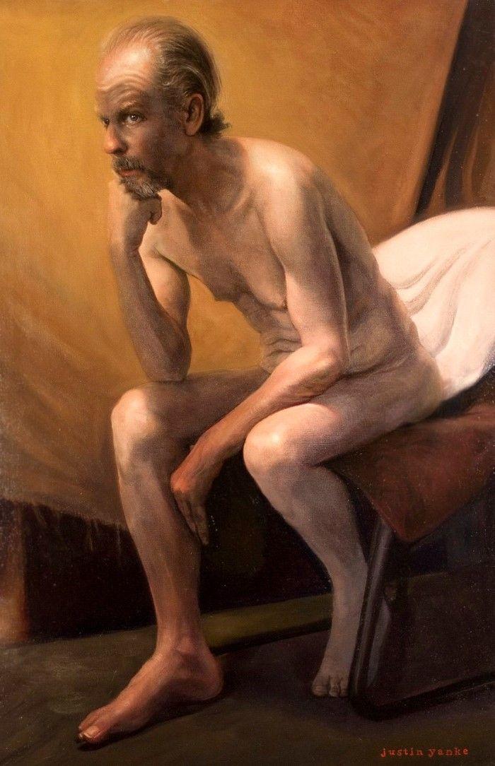 Американский художник. Justin Yanke