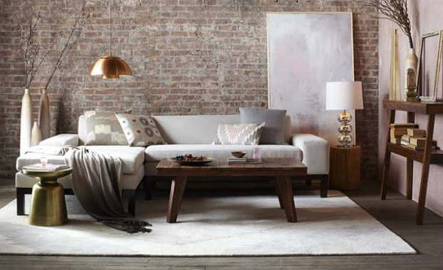 Urban rustic living room decor ideas tracy collin blog for Bedroom ideas urban