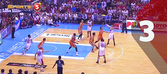 Top 5 Plays from Game 6 of the 2016 PBA Governors' Cup Finals (VIDEO)