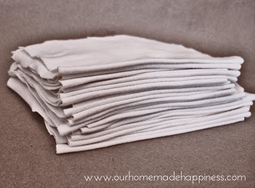 Our Homemade Happiness: Reusable Un-Paper Towels