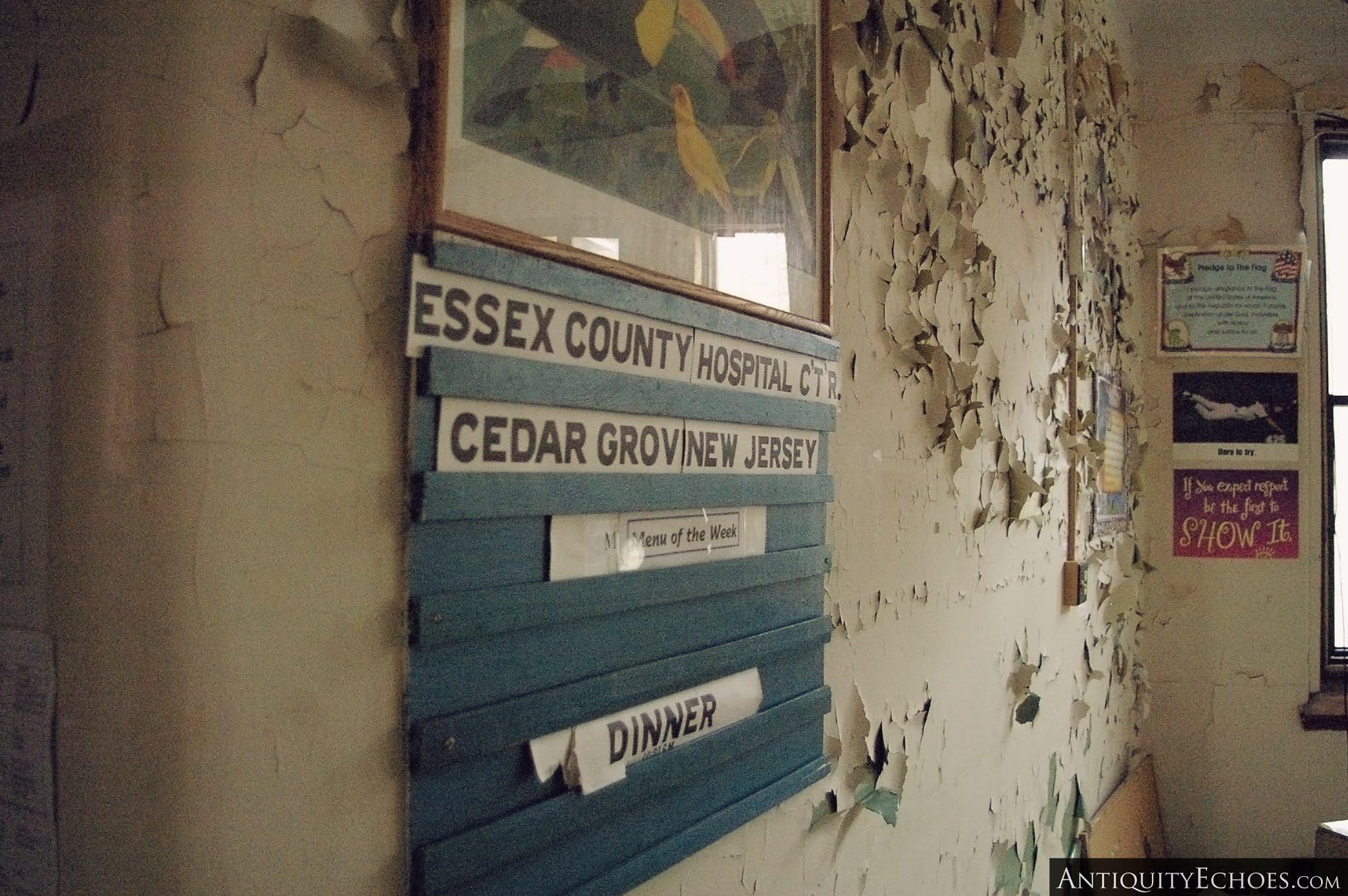 Overbrook Asylum - info Board