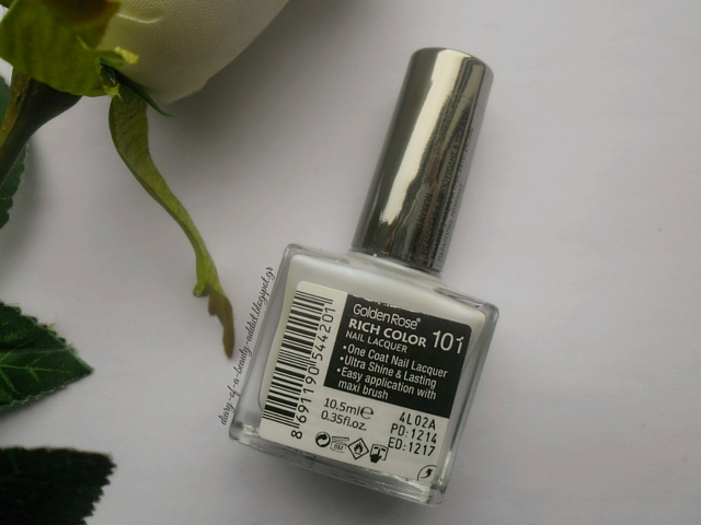 Golden Rose Rich Color Nail Lacquer 101