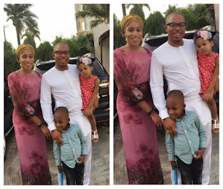 Naeto C Shares Beautiful New Photos With Wife and Kids