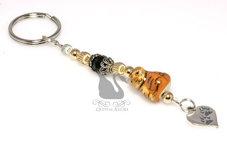Felix the Cat Prevent Cruelty to Animals Awareness Keychain (K010)