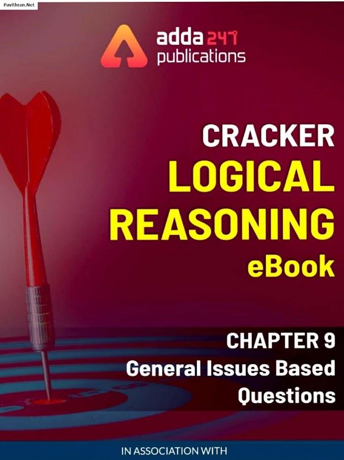 Cracker Logical Reasoning eBook by adda247 PDF Download