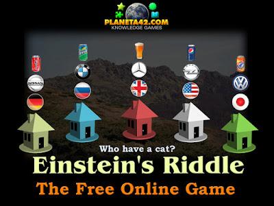 Задачата на Айнщайн Онлайн Игра