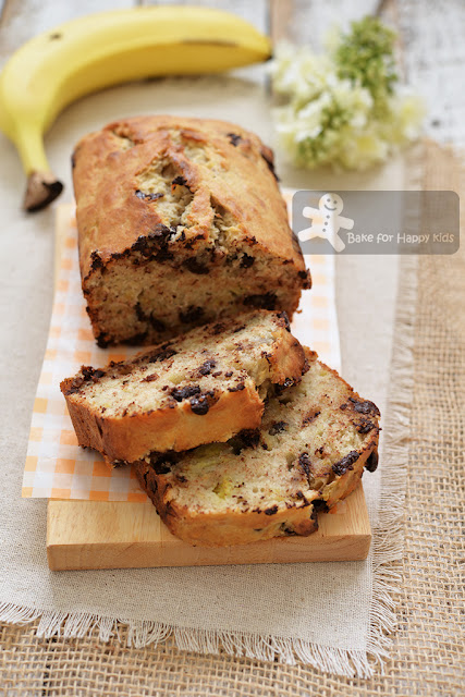 quick easy banana chocolate chip bread