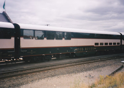 Burlington Northern Bi-Level Car BNA #31 Fox River in Kelso, Washington