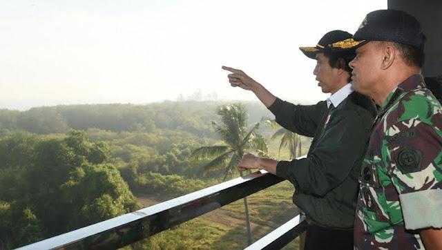 Presiden RI : Jadilah Benteng Samudera, Jagalah Kedaulatan Indonesia