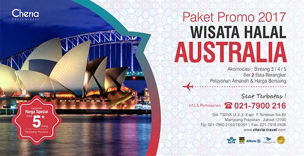 Paket Tour Australia Muslim Friendly 2017 Menu Halal