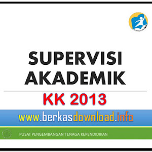 Unduh Contoh Format Supervisi Akademik Sekolah KK 2013