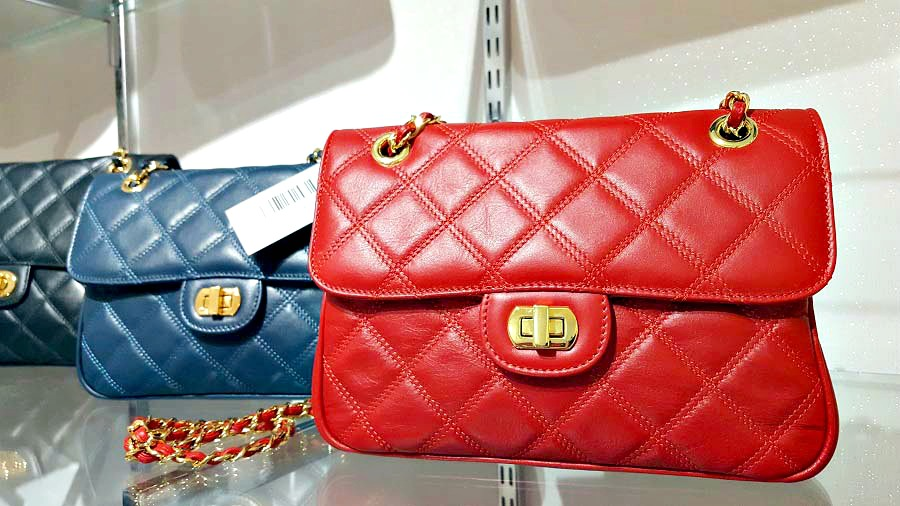 Shop Ballymoney, Chanel style bags, Italian leather, The Style Guide Blog