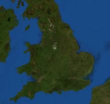 Letak Geografis Inggris