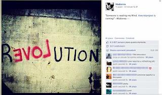 Madonna & Steven Klein revolution of love facebook