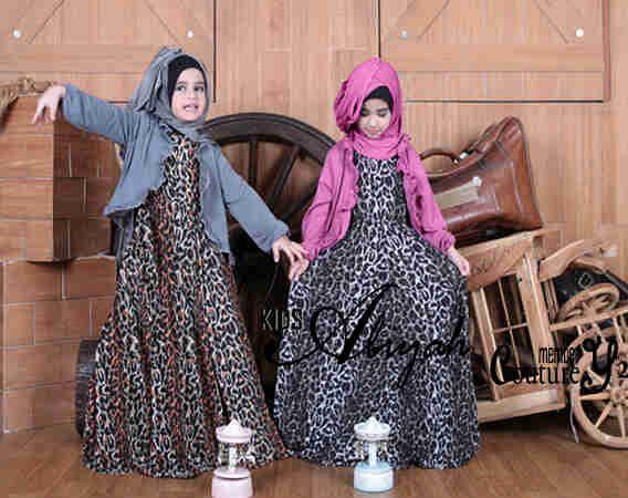 Model Baju Muslim Untuk Anak Perempuan Terbaru