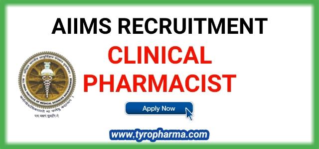 Clinical Pharmacist Job in AIIMS Bhubaneswar - AIIMS Recruitment 2019