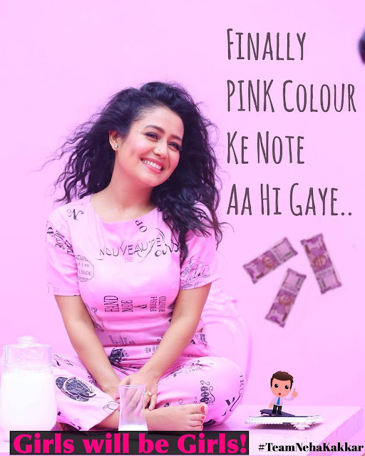 "Neha Kakkar latest photos in Pink Lovely Dress ""Pink Color Ke Note"""