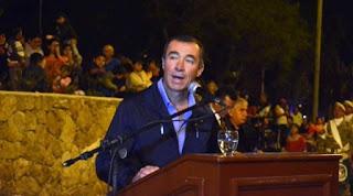 El intendente de Rivadavia Fabián Martín hizo inauguraciones en la Bebida