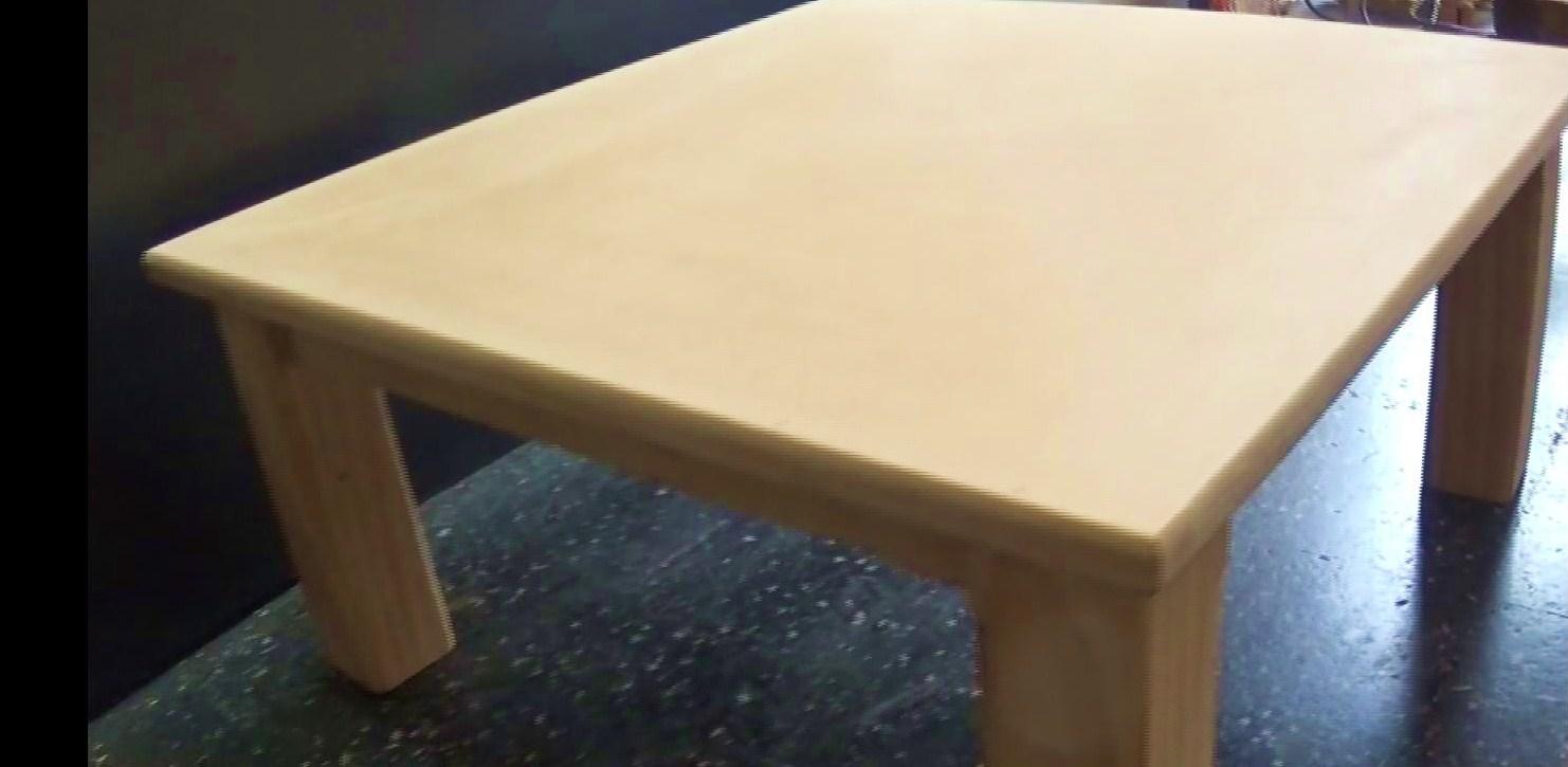 Carpintero en casa como se hace una mesa ratona for Como disenar una mesa