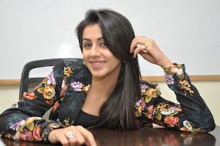 Actress Nikki Galrani Latest Pictures in Floral Jacket  0031