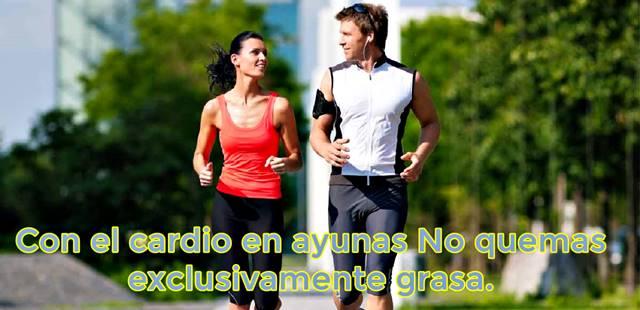 El cardio en ayunas te hace perder masa muscular