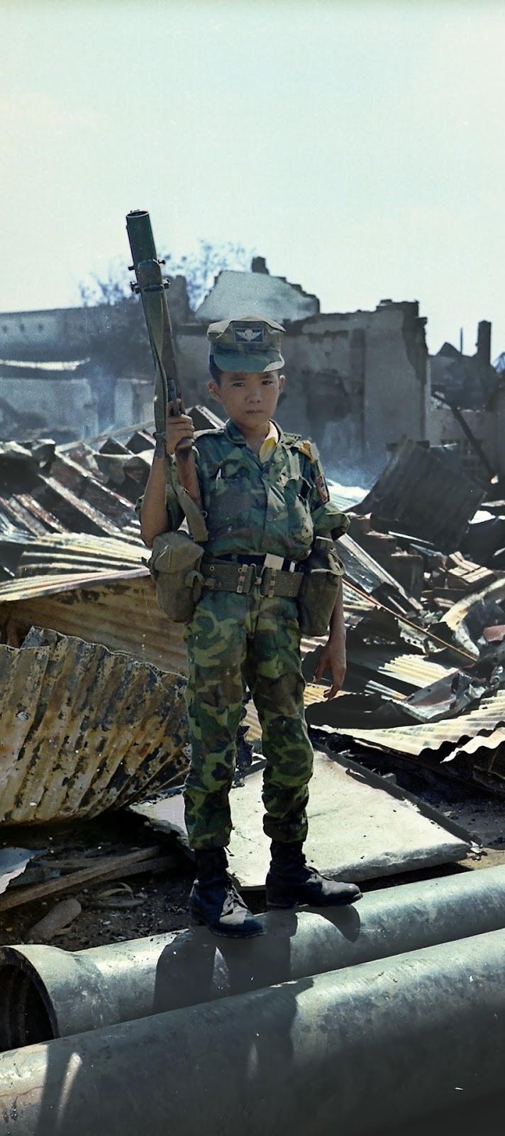 Boy soldier.