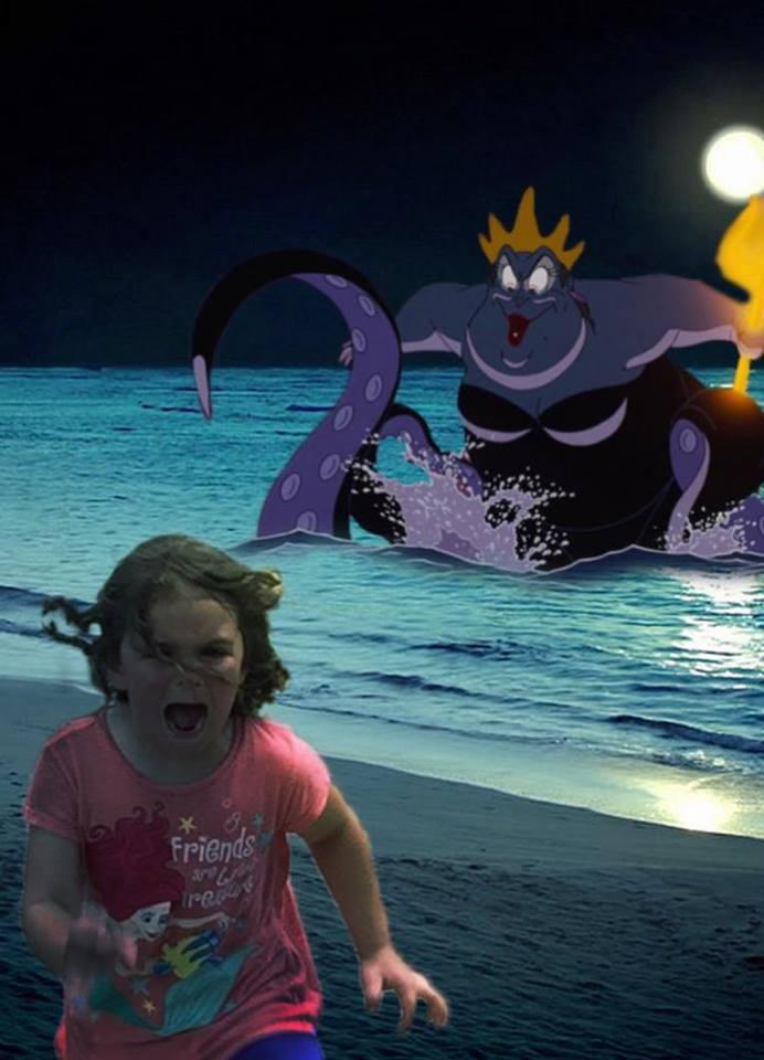 girl-running-the-little-mermaid