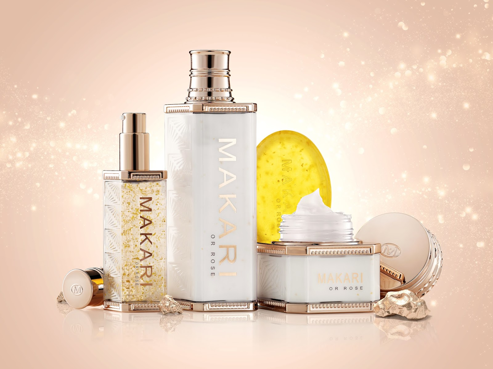 Review Makari De Suisse 24k Gold Skincare Collection Evergreen Reed Diffuser Set Serenity Dream 30 Ml This Is A Special Line That Has And Probiotics In It The An Anti Aging Works Well