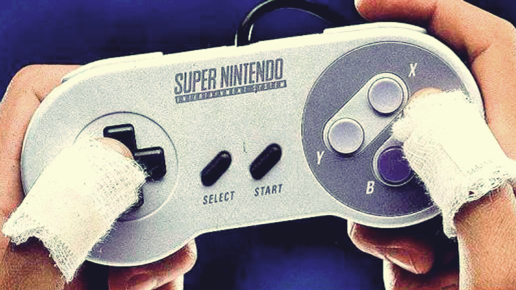 Super Nintendo Ad