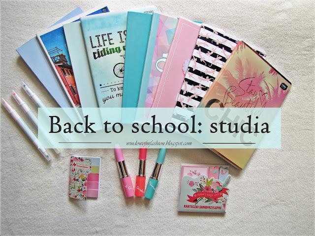 Back to school: studia, haul + niespodzianka