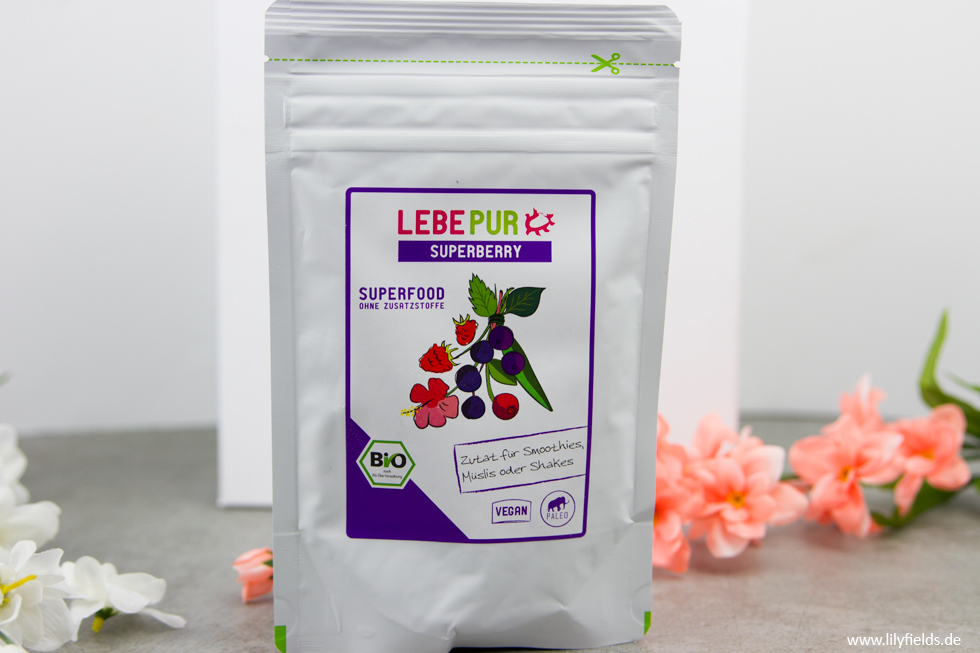 LebePur - Superberry Smoothie Pulver