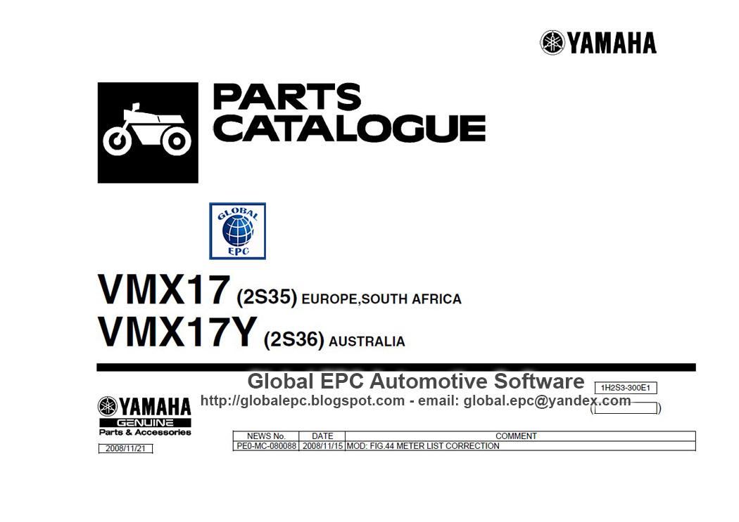 AUTO MOTO REPAIR MANUALS: YAMAHA VMAX VMX17 2009 WORKSHOP