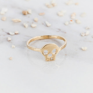 Memory Skull Ring - Solid Gold - Daisy London - Jewellery Blog