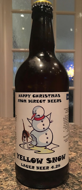 Yellow Snow Lager from Direct Beers