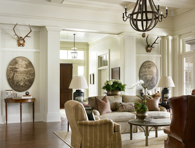 New Home Interior Design: Southern & Traditional