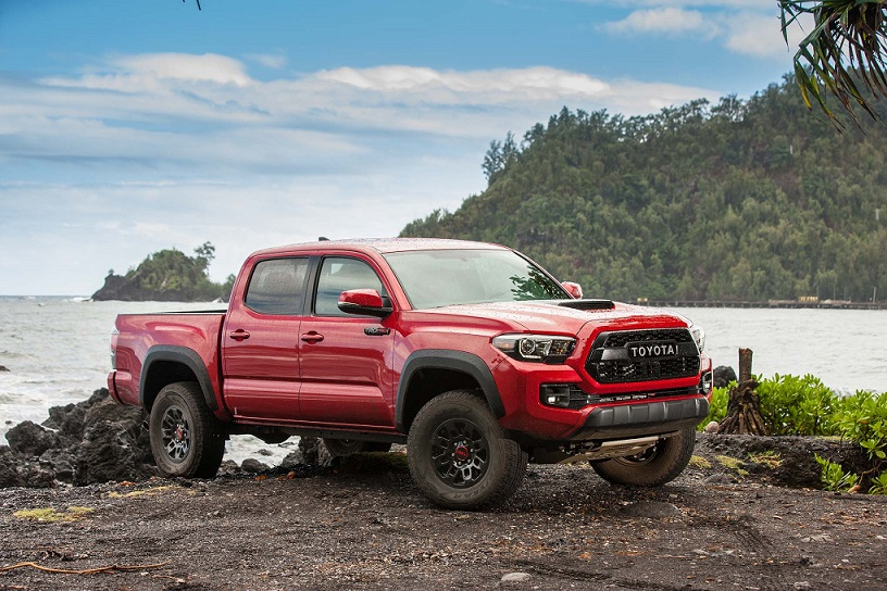 Toyota Sold Almost 2 000 More Of Its Tacoma Pickup Than Last August Pushing The Third Generation Ahead Performance To