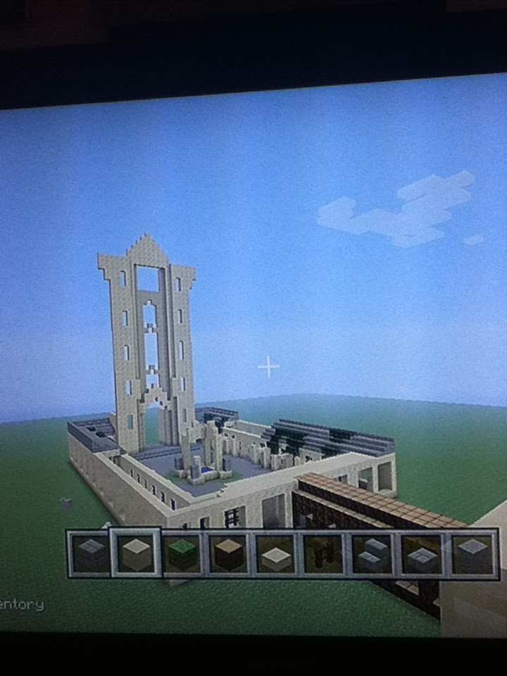 Hogwarts Project On Minecraft Clock Tower Phase 1