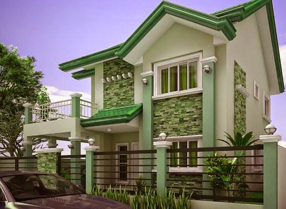 18 Contoh Desain Rumah Minimalis 2 Lantai